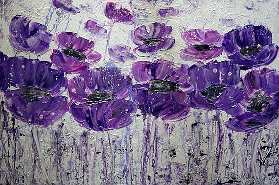 Art: SUMMER BLISS...PURPLE by Artist LUIZA VIZOLI