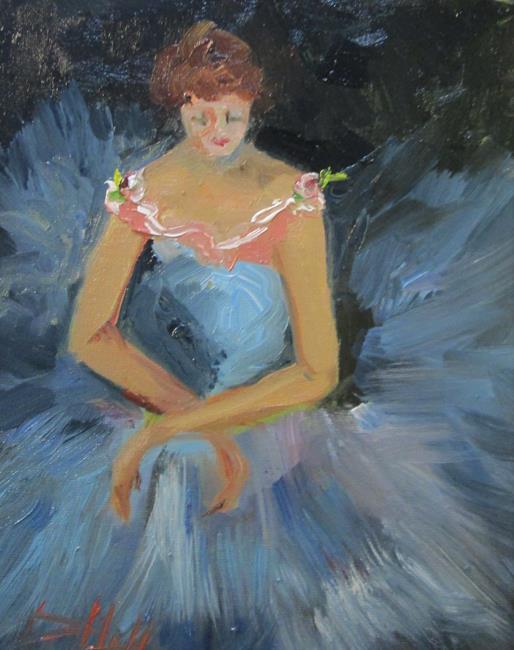 Art: Ballerina No. 8 by Artist Delilah Smith
