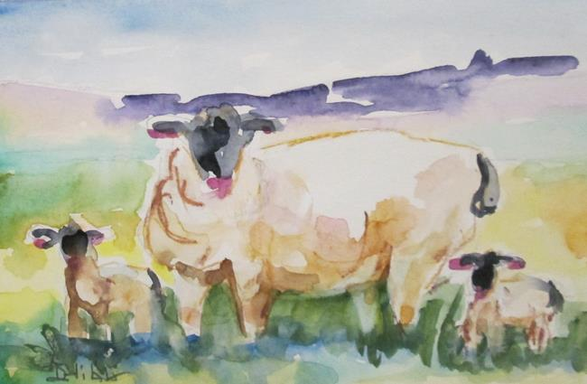 Art: Sheep by Artist Delilah Smith