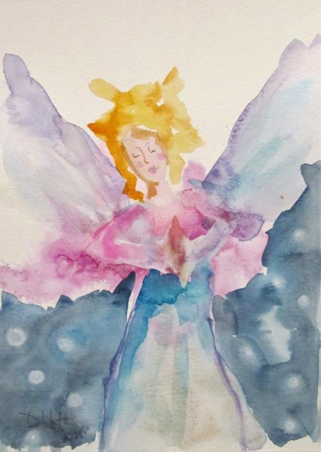 Art: Angel No. 18 by Artist Delilah Smith