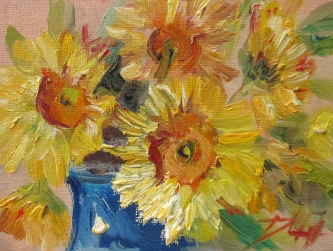Art: Yellow Daisies by Artist Delilah Smith