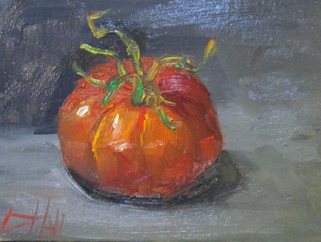 Art: Last Tomato by Artist Delilah Smith