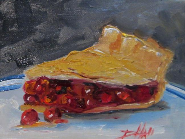 Art: Cherry Pie by Artist Delilah Smith