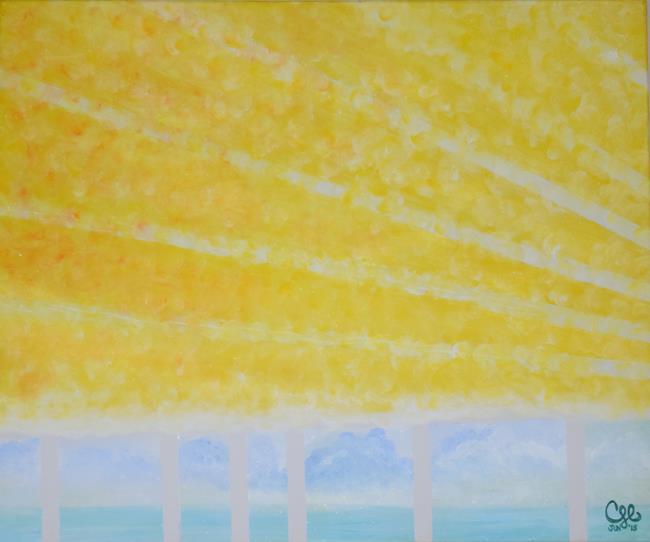 Art: Some Fun Sun by Artist Cherelle Art