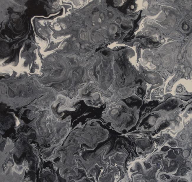 Art: Cherelle Art Black White Background by Artist Cherelle Art