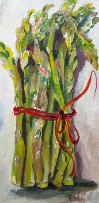 Art: Asparagus No. 6 by Artist Delilah Smith