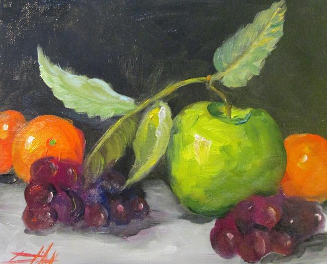 Art: Fruit Still Life No. 3 by Artist Delilah Smith