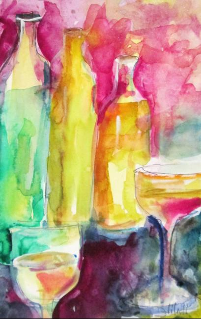 Art: Bottles by Artist Delilah Smith