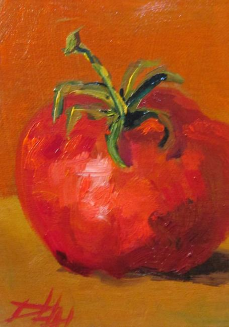 Art: Tomato by Artist Delilah Smith