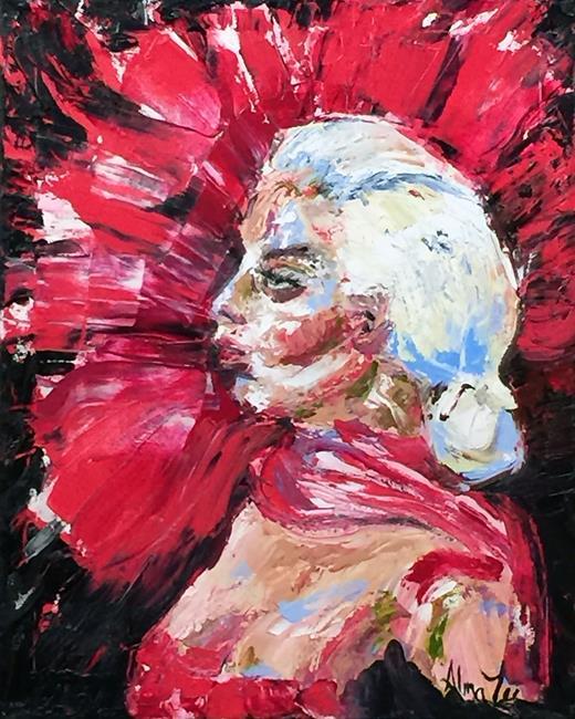 Art: Lady Gaga org lr by Artist Alma Lee