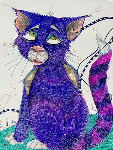 Art: Wilber P Dancy Pants lr by Artist Alma Lee