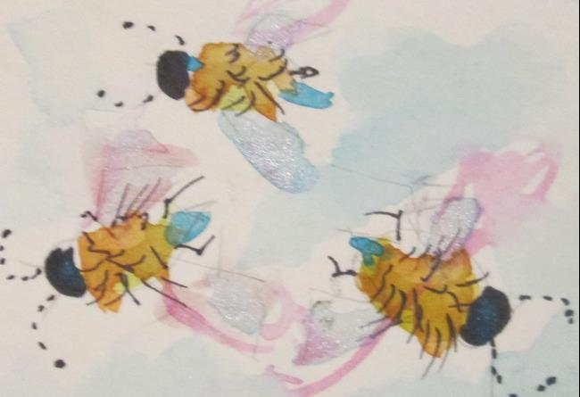 Art: Busy Bee by Artist Delilah Smith