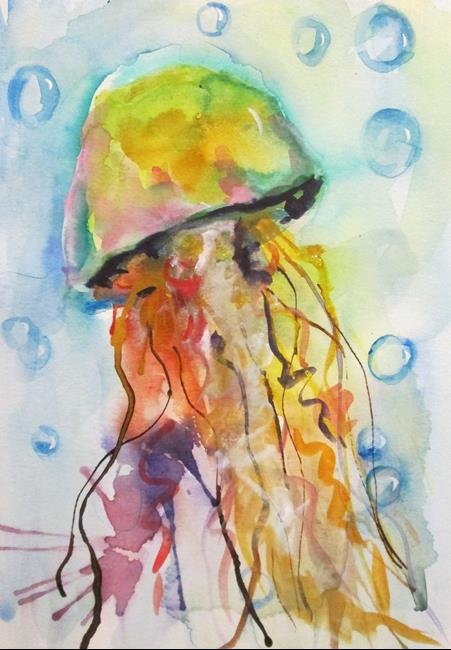 Art: Jellyfish No. 6 by Artist Delilah Smith