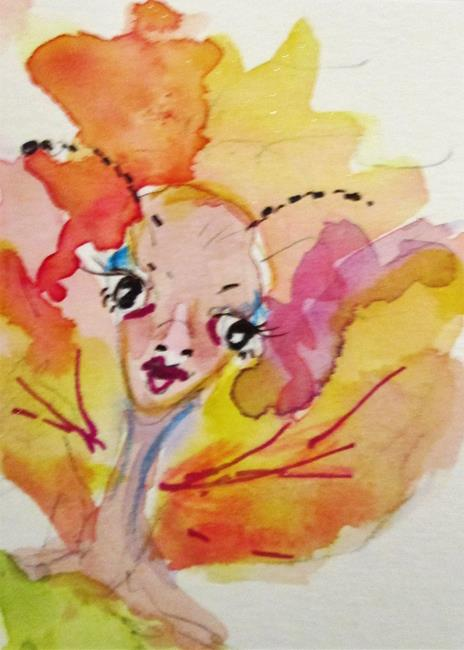 Art: Fall Fairy-sold by Artist Delilah Smith
