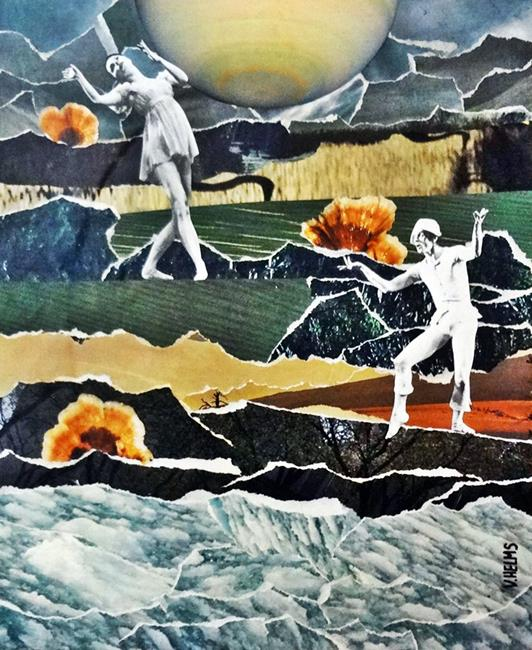 Art: Nureyev's Soliloquy 10 x 12 by Artist Vicky Helms