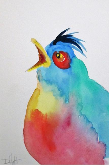 Art: Blue Bird by Artist Delilah Smith