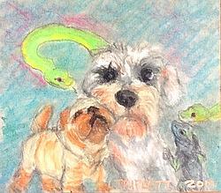 Art: Pets by Artist Laura Gemme Triplett