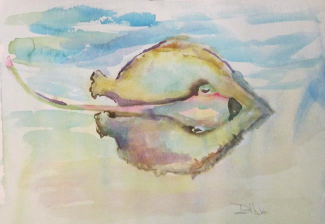 Art: Stingray by Artist Delilah Smith