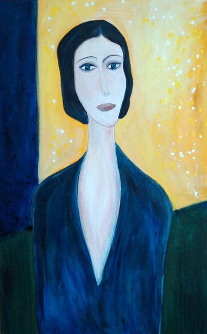 Art: Daydreaming by Artist LUIZA VIZOLI