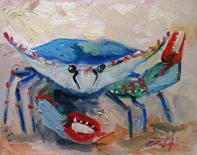 Art: Blue Crab No. 17 by Artist Delilah Smith