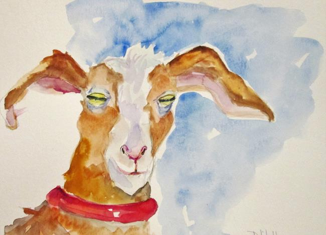 Art: Goat No. 5 by Artist Delilah Smith