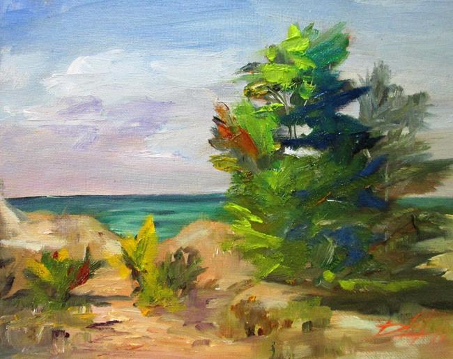 Art: Beach by Artist Delilah Smith