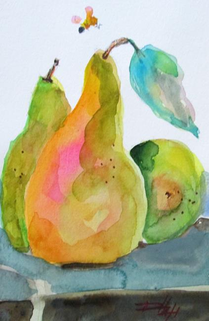 Art: Pears No.5 by Artist Delilah Smith