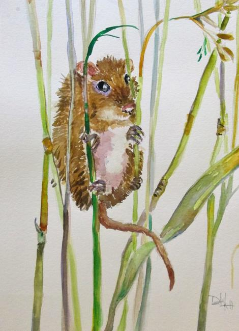 Art: Field Mouse by Artist Delilah Smith