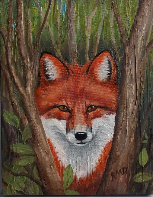 Art: RED RED FOX by Artist Rosemary Margaret Daunis