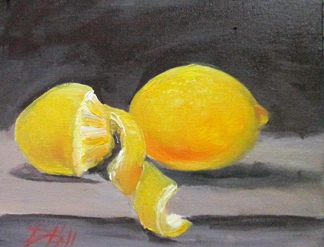 Art: Lemon and Peel by Artist Delilah Smith