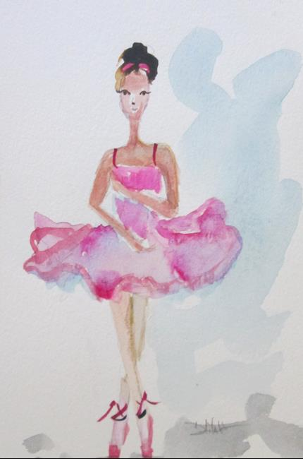 Art: Ballerina TuTu No. 2 by Artist Delilah Smith