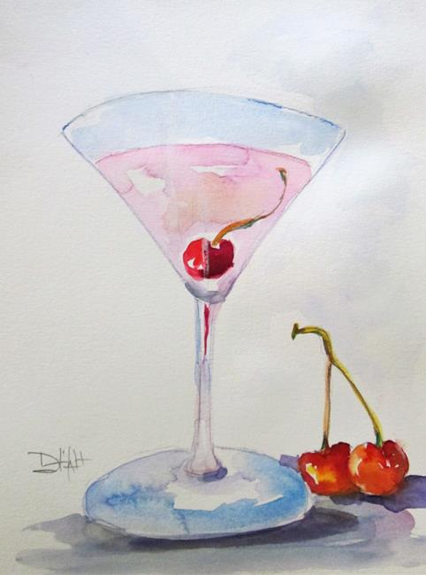 Art: Wicked Martini-sold by Artist Delilah Smith