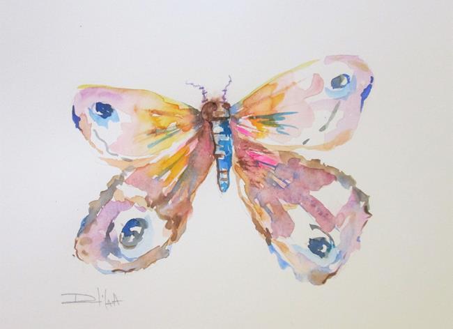 Art: Moth No. 2 by Artist Delilah Smith