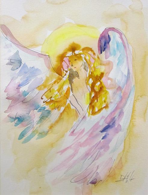 Art: Angel No. 21 by Artist Delilah Smith