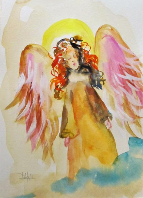 Art: Angel No.22 by Artist Delilah Smith