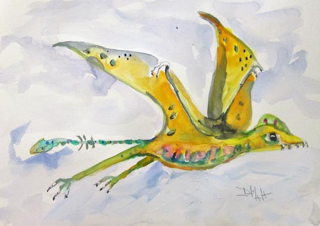 Art: Scaphognathus by Artist Delilah Smith