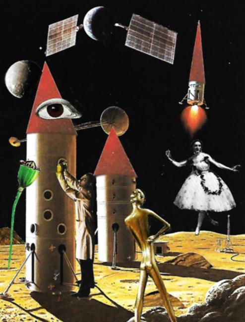 Art: Strange Times by Artist Vicky Helms