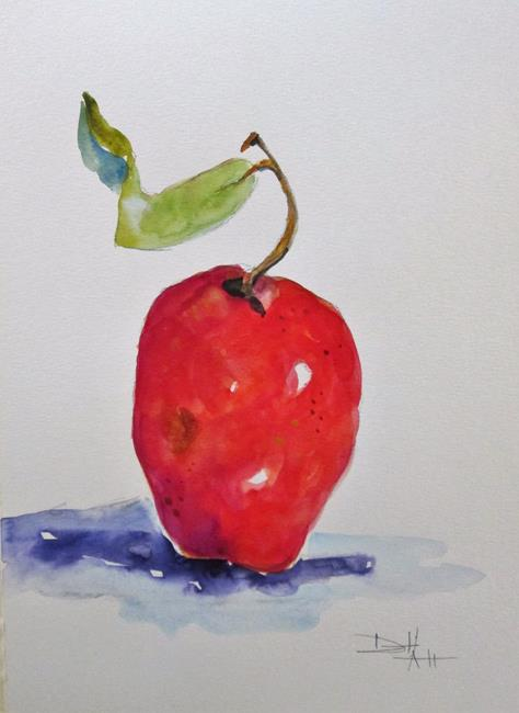 Art: Apple ,No. 18 Apple Series by Artist Delilah Smith