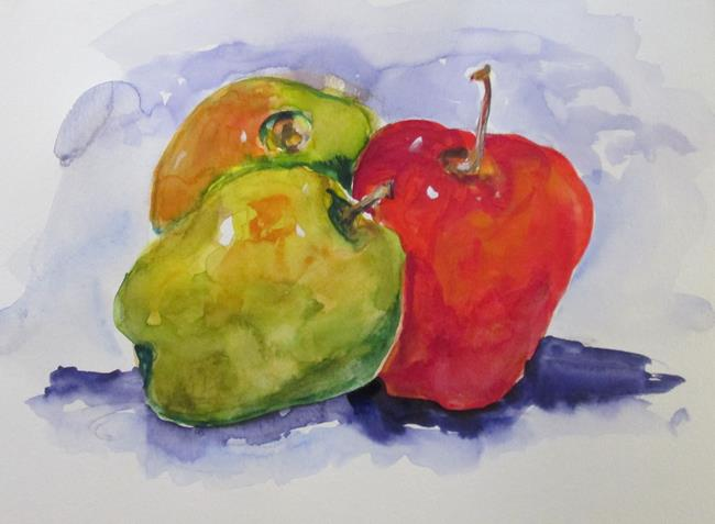 Art: Apples No. 21 in Apple Series by Artist Delilah Smith