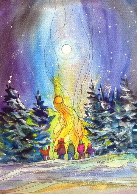 Art: Solstice (PC) by Artist Kathy Crawshay