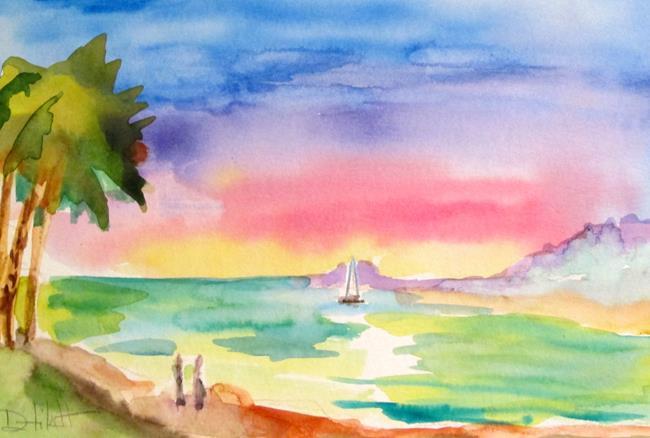 Art: Beach Walkers by Artist Delilah Smith