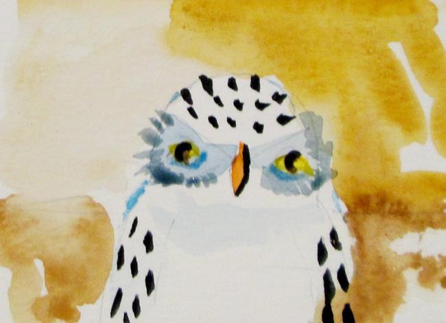 Art: Little Owl by Artist Delilah Smith