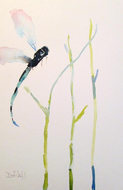 Art: Dragonfly No. 11 by Artist Delilah Smith