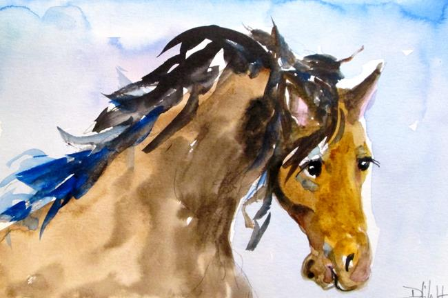 Art: Horse No. 5 by Artist Delilah Smith