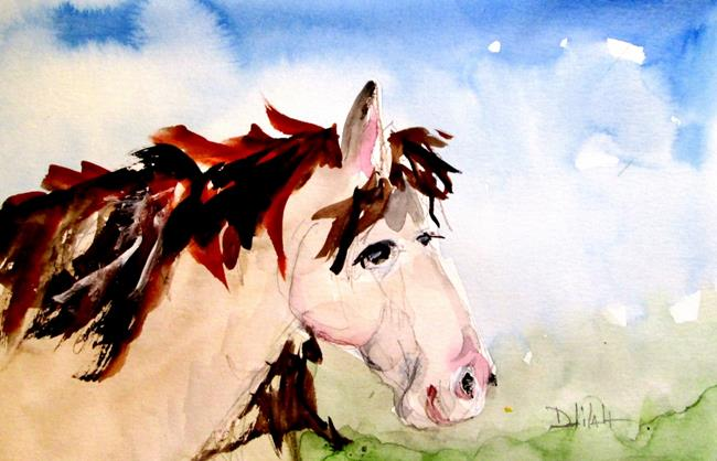 Art: Horse No. 4 by Artist Delilah Smith