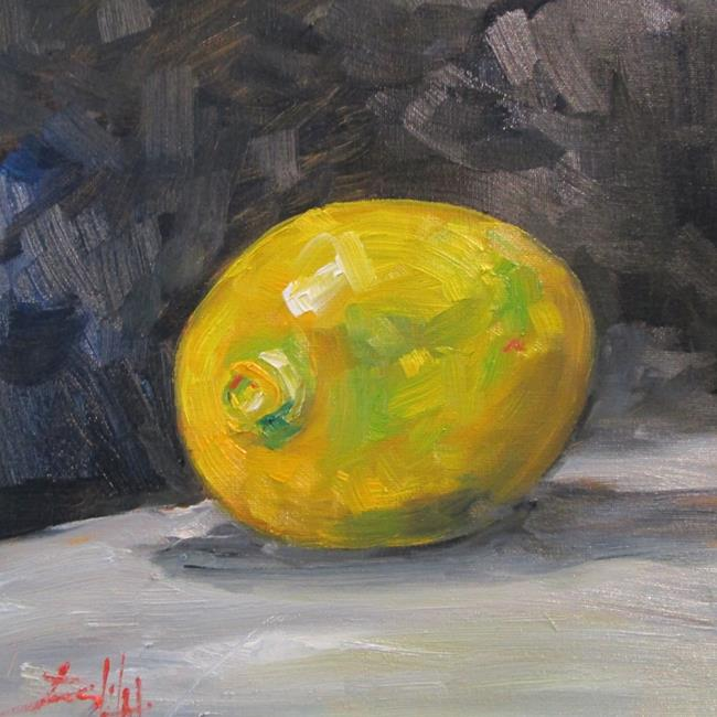 Art: Lemon No. 3 by Artist Delilah Smith