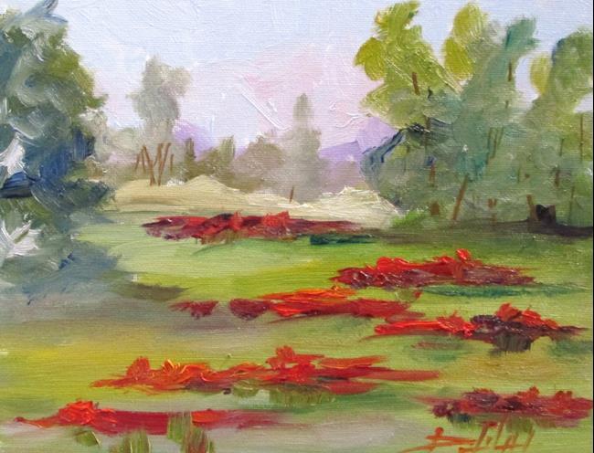 Art: Poppy Field No. 4 by Artist Delilah Smith