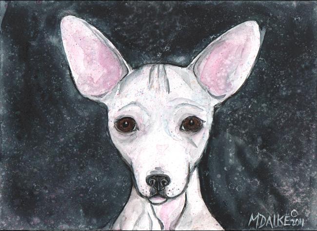 Art: Chih 1 by Artist Melinda Dalke