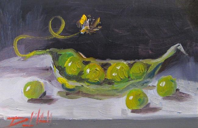 Art: Peas and Pod-sold by Artist Delilah Smith