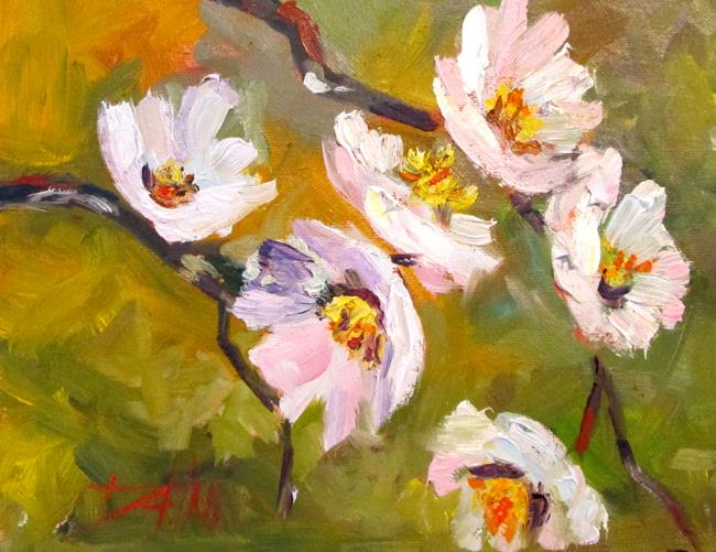 Art: Spring Blossoms No. 3 by Artist Delilah Smith